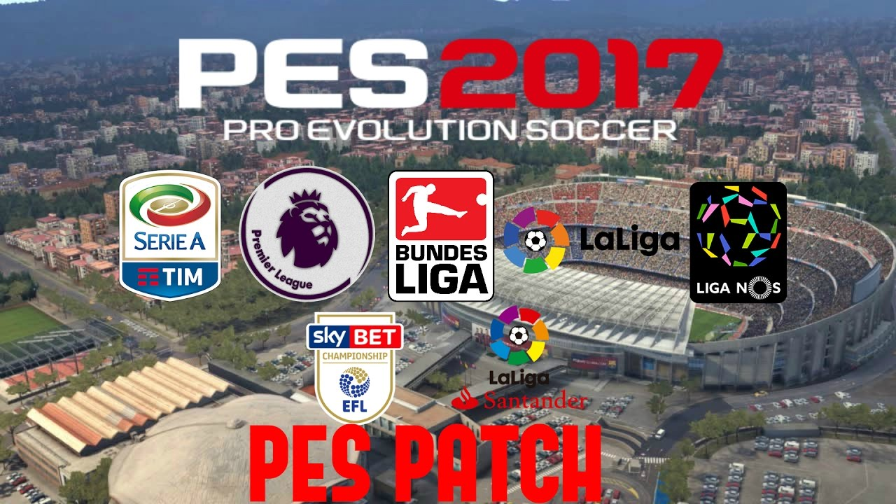 pes 17 bundesliga patch all teams stadiums and balls pesgalxy patch youtube. Black Bedroom Furniture Sets. Home Design Ideas