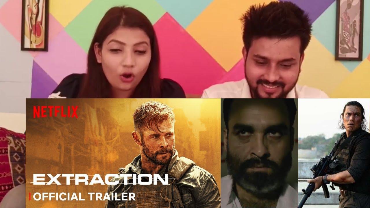Extraction Trailer Indian Reaction Chris Hemsworth Netflix India Youtube