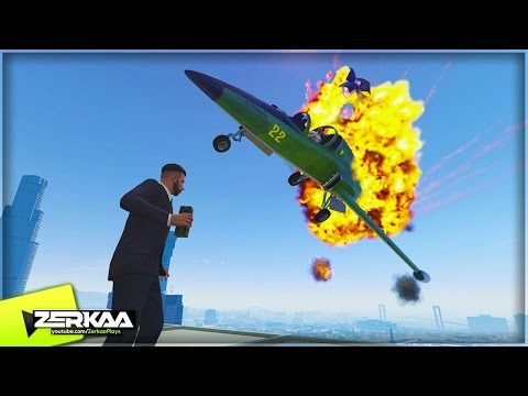 JETS VS STICKY BOMBS | GTA 5 Funny Moments | E629 (GTA 5 PS4)