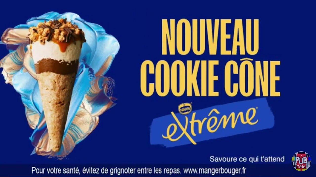 """Musique de la pub Nouveau extrême cookie cône Nestlé """"enjoy what's next""""  2021"""