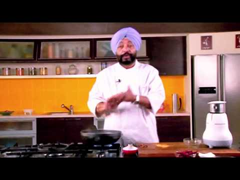 How To Make Red Chilli Paste with Dried kasmiri Red chillies| By Chef Harpal Singh SoKhi