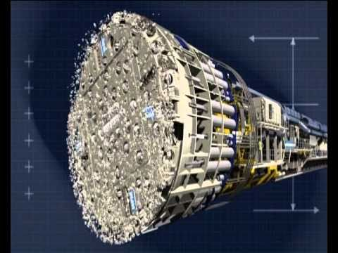 Tunnel Excavation With NFM Technologies Single Shield Tunnel Boring Machines