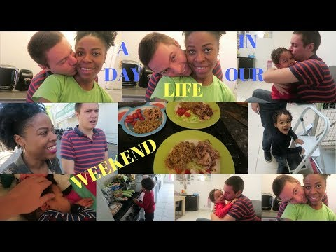 A DAY IN OUR LIFE | WEEKEND | TRYING SOMETHING NEW | BONDING | INTERRACIAL FAMILY