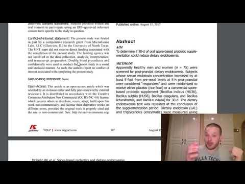 #AskMikeTheCaveman Part 420 - Facebook Live Q&A Replay - Spore-Based Probiotics & Endotoxemia