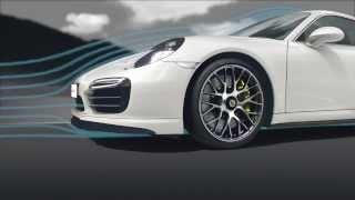 Porsche 911 Turbo Aerodynamics: Best of All Worlds