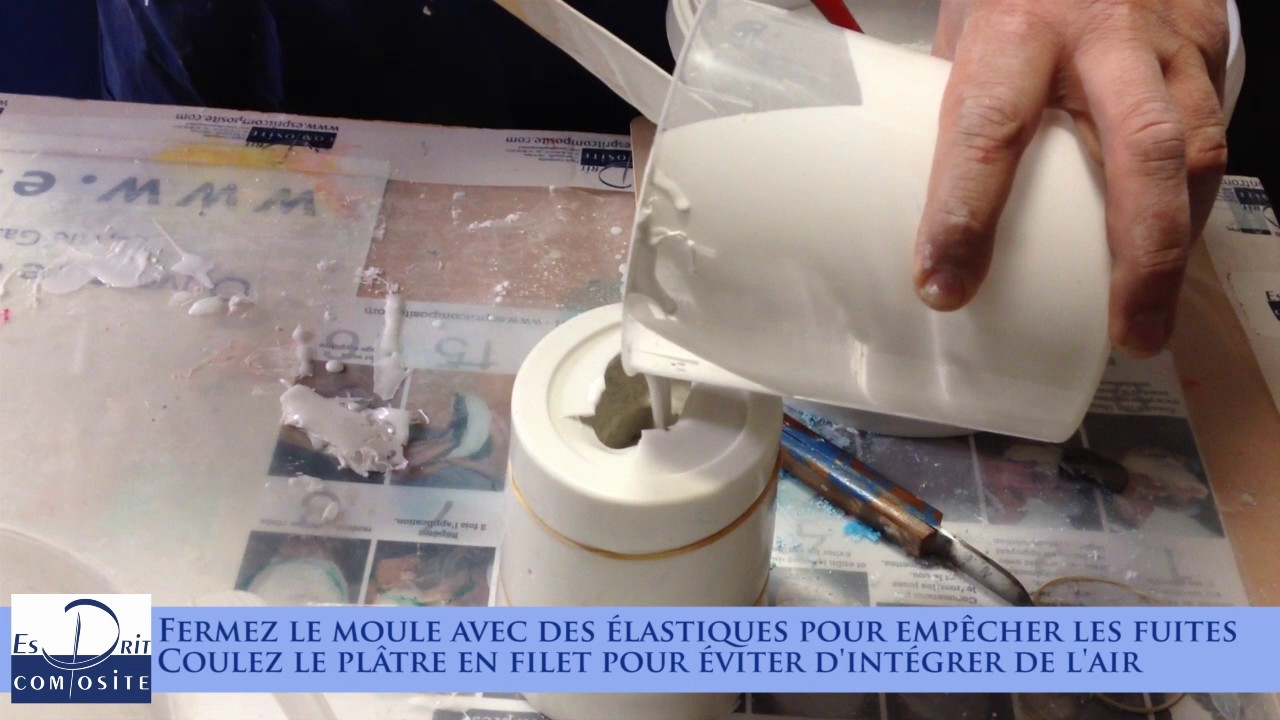 Comment faire moulage de fruit avec de l 39 alginate tirage en pl tre synth tique youtube - Moulage main platre ...