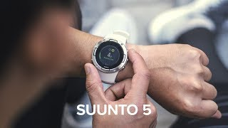 New Suunto 5   A compact GPS sports watch with great battery life