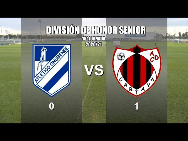 Cartaya Tv | Atlético Onubense vs AD Cartaya (2020/21)