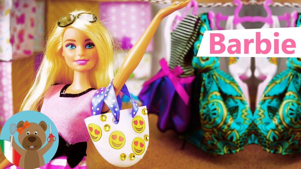 Come fare una Borsa per la tua Barbie   Fai Da Te - YouTube