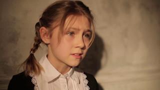 Пробирают до слёз - девочка читает стих о войне. Вот что нужно учить в школе! Памяти ветеранов.