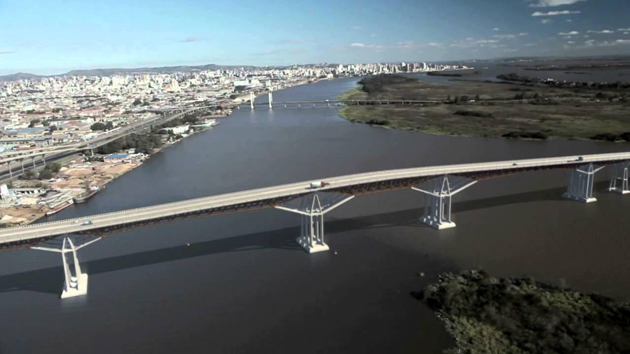 Resultado de imagem para imagens da nova ponte do Guaiba