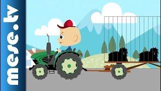 Traktor Robi kalandjai – Puli buli (animáció gyerekeknek)