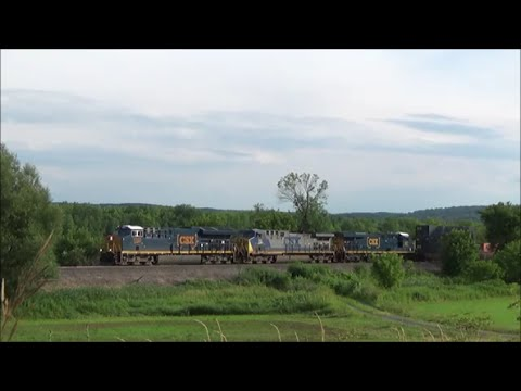 [HD] 14-hours Overnight on the CSX Mohawk Subdivision: 7/16-17/16