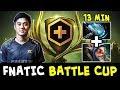 BEST Meepo Abed + Meteor Hammer — Fnatic in Dota PLUS Battle Cup
