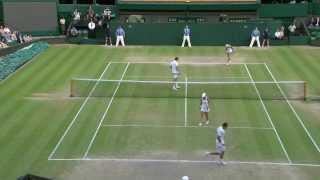 Wimbledon: 2013 Day 13 Highlights: Soares/Raymond v Nestor/Mladenovic