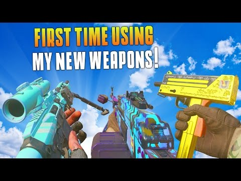 I GOT ALL 8 OF THE NEW DLC WEAPONS! (MWR New DLC Weapon Gameplay & Supply Drop Opening) - MatMicMar