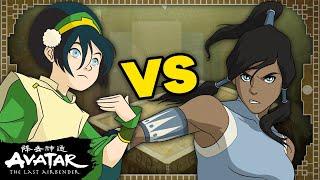TOPH vs. KORRA: Who Would Win? 👊 Avatar Bender Battles #2   Avatar