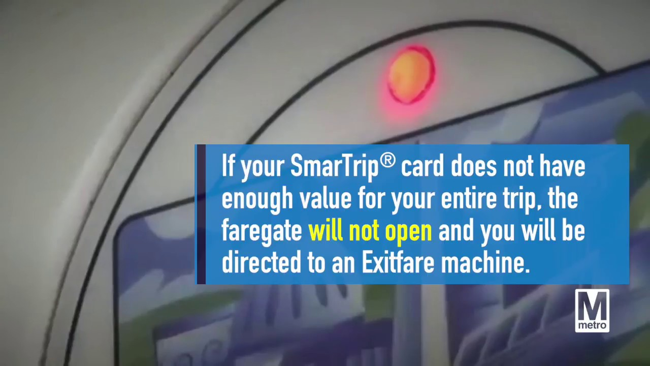 SmarTrip® cards will not permit negative balances  sc 1 st  YouTube : metroopens doors - pezcame.com