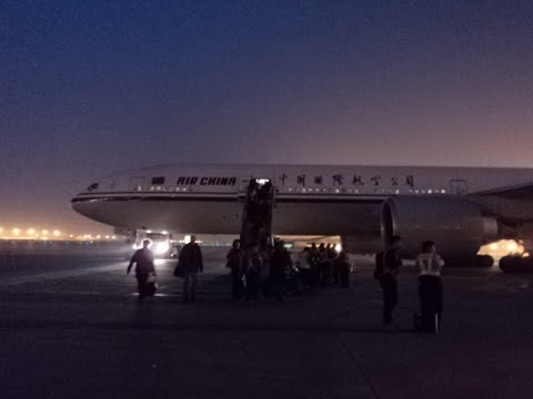 Air China Montreal to Beijing