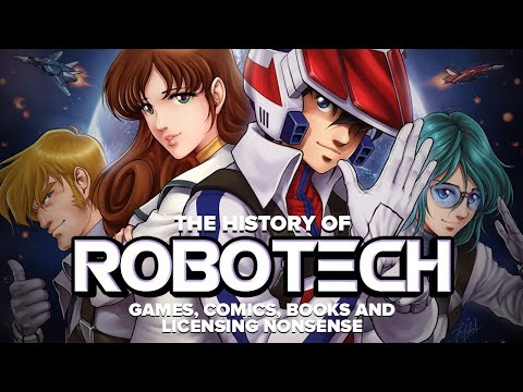 The History of Robotech vol 3: Games, Comics and Licensing Nonsense