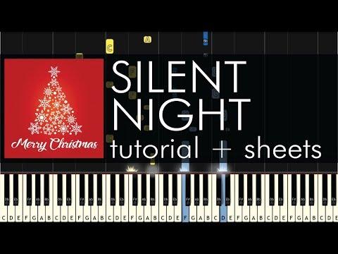 Silent Night - Piano Tutorial - Advanced Arrangement + Sheets