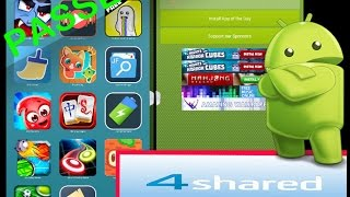 how to pass skip 4shared ads and steps and directly install the apk