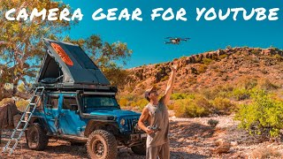 OUR GEAR FOR FILMING A FULL-TIME ON THE ROAD YOUTUBE CHANNEL - From Vlogging, to Drone, to B Roll