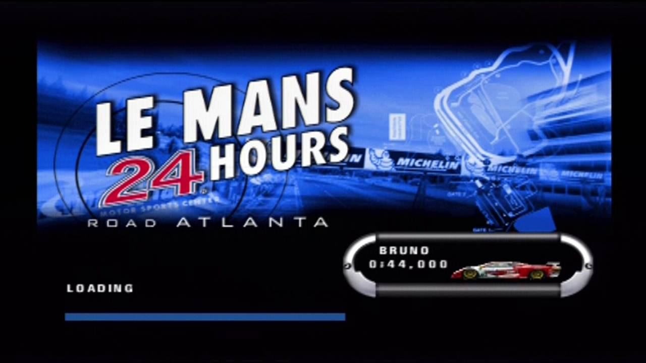 Le Mans 24Hrs PS2 Component Attract Mode DIVX 720p