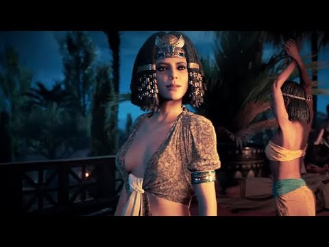 Assassin's Creed Origins All Cleopatra Scenes