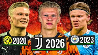 I PLAYED the Career of ERLING HAALAND... FIFA 21 Player Rewind