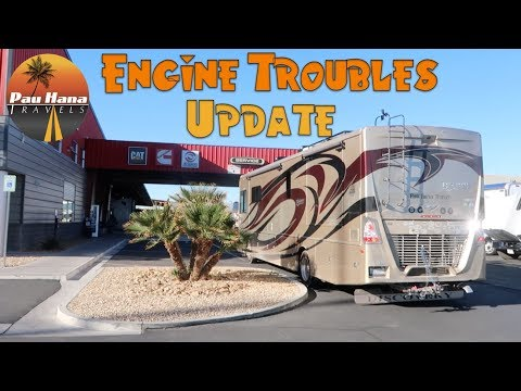 Engine Problem Update: Going to Freightliner for Service | RV Life 🚐