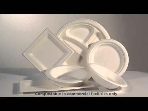 Eco-Products® Sugarcane Dinnerware