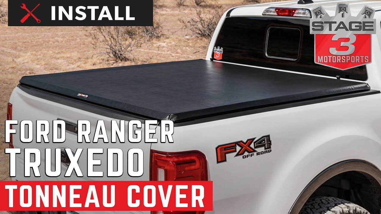 2019 2020 Ford Ranger 5ft Bed Truxedo Truxport Tonneau Cover 231001