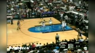 NBA Greatest Duels: Allen Iverson vs. Kobe Bryant (2006) *AI Game Winner