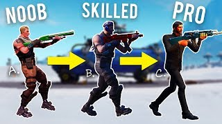 From Noob to Pro in Fortnite