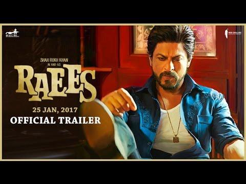 Shah Rukh Khan In & As Raees   Trailer   Releasing 25 Jan