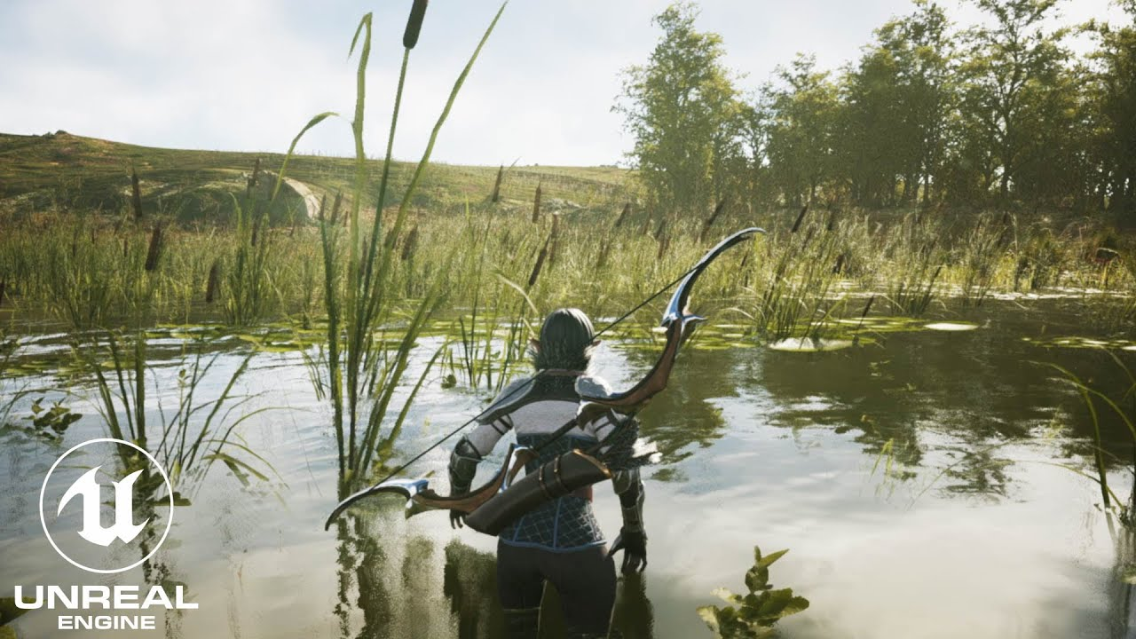 Download Unreal Engine 4 RTX 3090 Realistic Wetlands