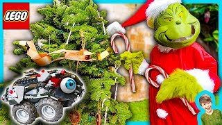 Lego Spy Gadget Batmobile Caught Grinch Stealing Christmas on Camera!