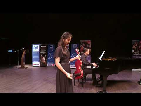 Lim Zhi Hsuan -Third Prize, Young Artiste Category, Bruch Concerto in G Minor, 3rd Movement