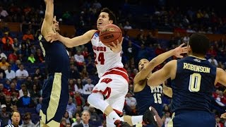 First Round: Wisconsin holds on to win over Pittsburgh