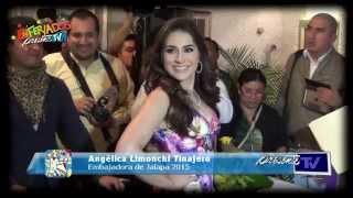 Registro de la Embajadora de Jalapa 2015, Angélica Limonchi Tinajero