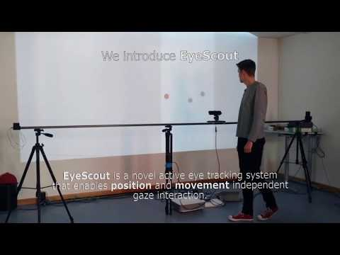 EyeScout: Active Eye Tracking for Gaze Interaction with Large Public Displays (UIST'17)