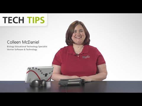 Vernier Go Wireless® Heart Rate with iPad® - Tech Tips with Vernier