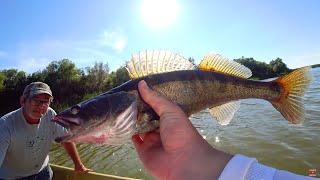 Рыбалка в Астрахани снова полна сюрпризов! Осторожно! На Лукойле бывает такое!