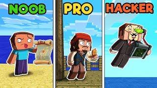 Minecraft - HIDDEN CLUES! (NOOB vs PRO vs HACKER)