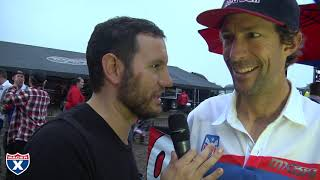 Jason Weigandt catches up with Team Puerto Rico's Travis Pastrana a...