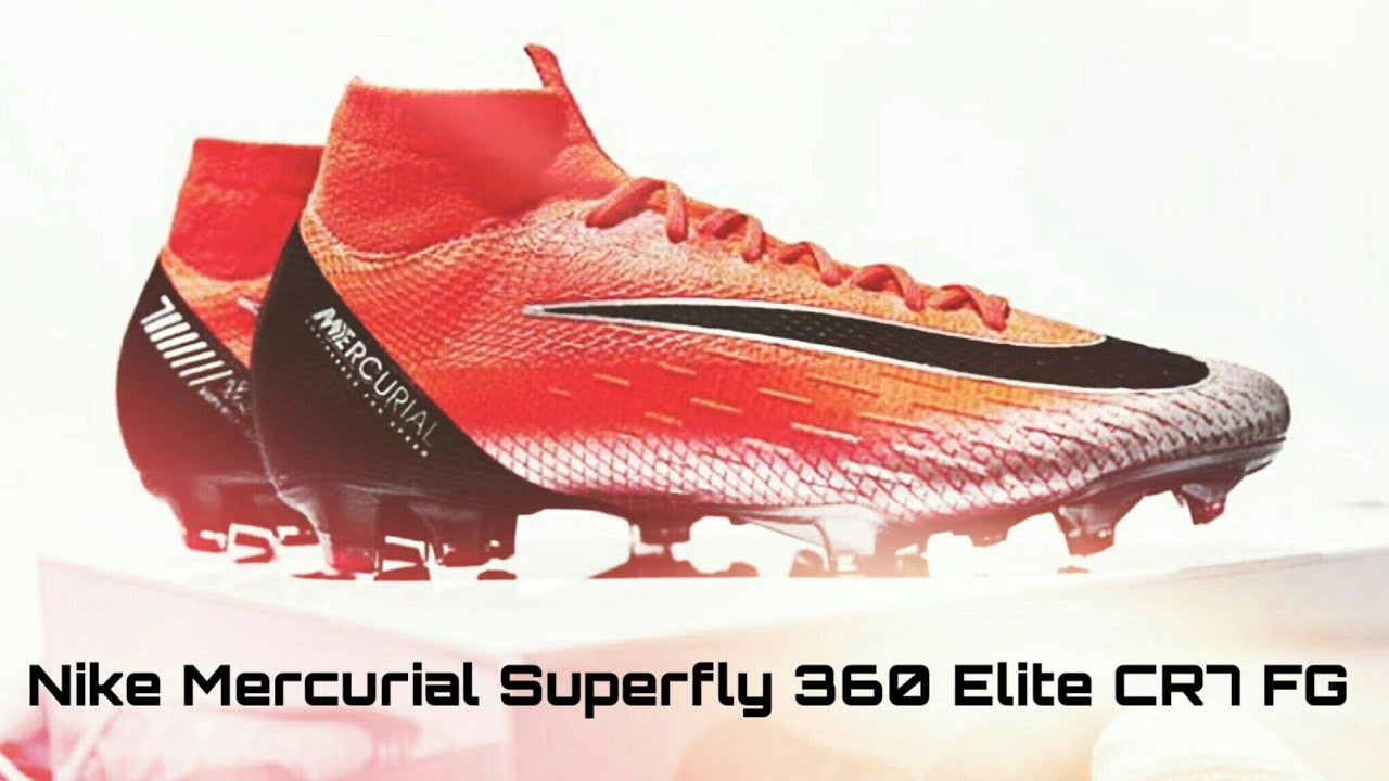 0555f ec209  amazon nova chuteira do cristiano ronaldo 2018 nike mercurial  superfly 360 elite cr7 fg 60732 05de8 914e5ee35605a