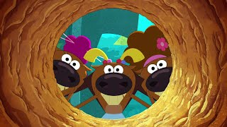 Zig & Sharko 🧒👧🕳 THE KIDS IN A HOLE 🕳👧🧒 2021 COMPILATION 🔥 Cartoons for Children