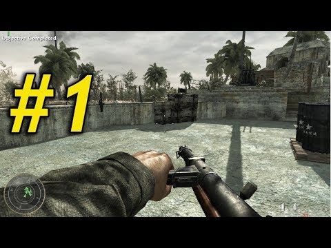 Series Game Mới Đây - CALL OF DUTY 5 WORLD AT WAR - Tập 1