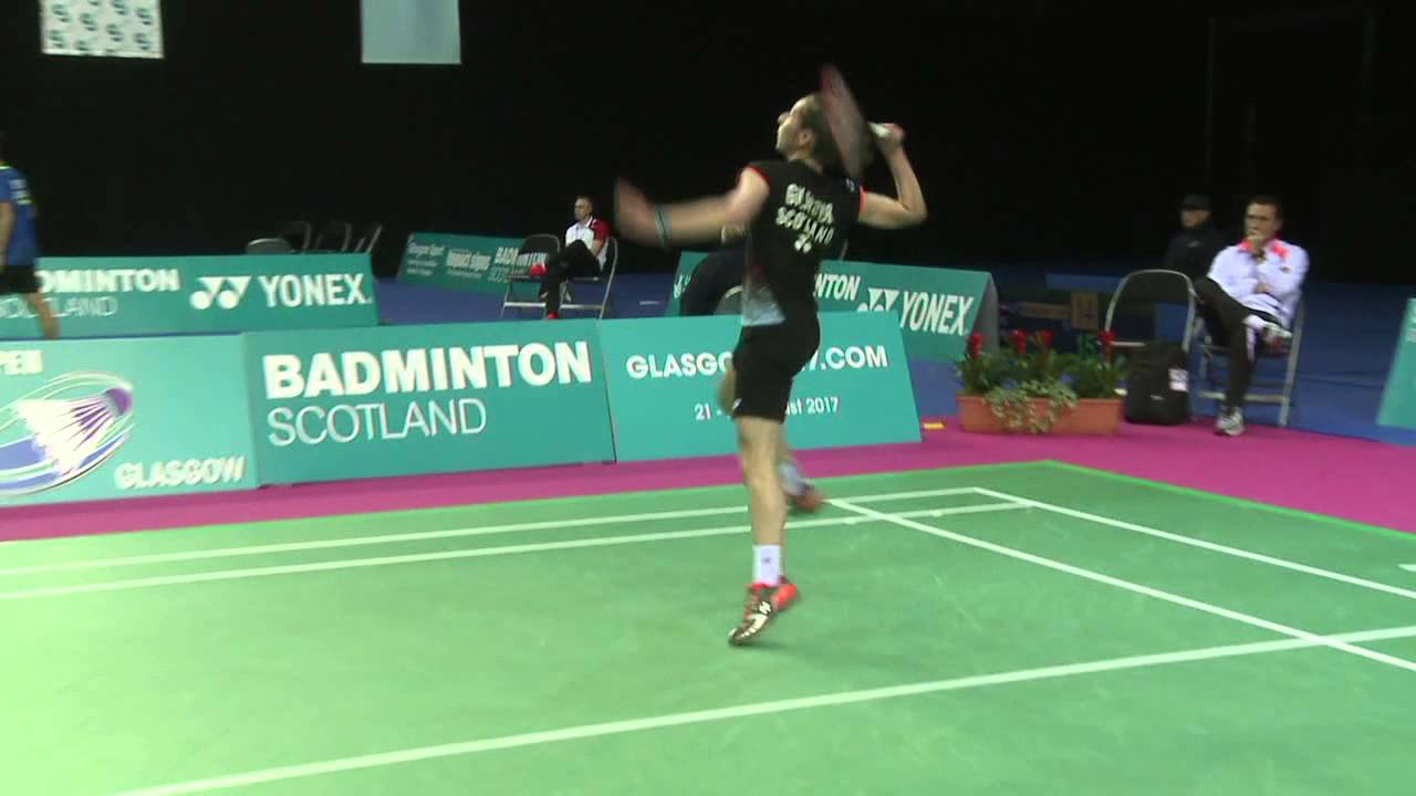 Badminton Kirsty Gilmour vs Ayumi Mine WS QF Scottish Open